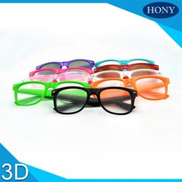 Wholesale Glass Fireworks - Wholesale- 5pcs Free Shipping Crazy Funny Club Amazing Plastic 3D Luminous Fluorescent Party Diffraction Glasses, 3D Fireworks Glasses