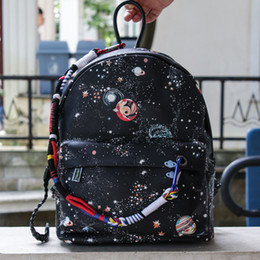 Wholesale Print Galaxy Backpack - Fashion Girl' Printing Sky Bags, Lovely Students' Backpacks, Cute Chinese Style, Creative Galaxy Schoolbags, kid' Christmas Gift, Collecting