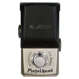 Wholesale Joyo Distortion - JOYO JF-315 MetalHead Distortion Mini Smart guitar Effect Pedal suit for heavy rock extreme metal ture bypass