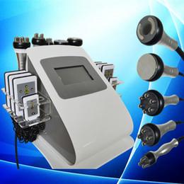 Wholesale Rf Cavitation Multipolar - DHL free shipping fast cavitation slimming system rf vacuum multipolar radio frequency machine laser fat removal portable