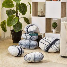 Wholesale Fabric Sofas Sets - Dorimytrader 1 Set Pop Soft Simulated Plush Comet Stone Pillow Nice Sofa Cushion Kids Play Pebble Stone Doll Home Decoration DY60255