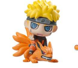 Wholesale Naruto Figure 6pcs - Naruto Uzumaki 6pcs set Anime Naruto Uzumaki Mini PVC Action Figures Collection Toys Children Doll for Gift Collection Toysfree sh
