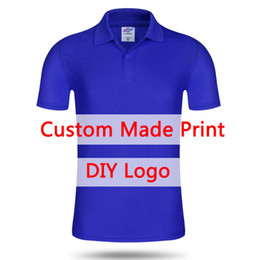 Wholesale Wholesale Men Polo T Shirts - OEM Custom shirt Women Men Short-Sleeve Quick dry cloth Brand Poloshirt Men Casual Polo Shirt customized logo Drop t shirt