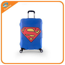 Wholesale Luggage Pull Boxes - Custom logo elastic box set of luggage dust cover pull rod bags travel box more cases