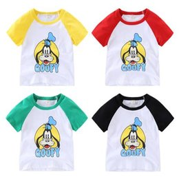 Wholesale Micky Mouse Clothes - Summer Baby Boys Clothing Sets Micky Mouse Kids Clothes Short Sleeves T Shirts Shorts suits toddler Children