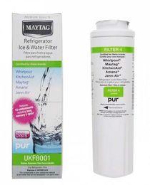 Neveras gratis online-UKF8001 Filtro de agua Maytag UKF8001Pur Frigorífico Filtro de agua UKF Cartucho de repuesto refrigerador DHL Envío gratis