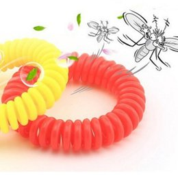 Wholesale Essential Oils For Children - Natural Essential Oil Mosquito Repellent Wrist Bugs Band Bracelet Mosquito Bangle Wrist for Baby Adult Children Anti Summer Night Ring