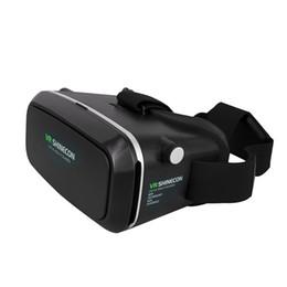 controlador de juegos bluetooth android Rebajas Venta al por mayor 100% nuevos vidrios de VR con el Gamepad inalámbrico de Gamepad de la palanca de mando del juego de Bluetooth para el teléfono elegante de Android / iOS