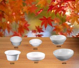 Wholesale Porcelain Sauce Dish - Imitation Porcelain Melamine Dinnerware Round Sauce Dish Chain Restaurant Melamine Plate A5 Melamine Tableware Dinner Plate