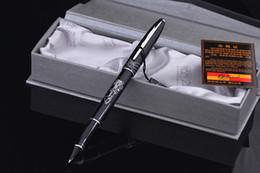 paralelos de escritorio Rebajas Al por mayor-negro real Picasso 606 Pluma pluma de regalo de negocios envío gratis escuela y oficina Suministros de escritura enviar maestro 0.38mm
