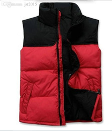 Wholesale Double Jacket Coat - Fall-2017 new Brand double face High Quality Men's Down Vest Down Jacket & Outerwear Coat thick winter sportswear