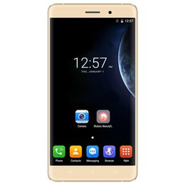 Wholesale Android Cell Phone 2g Ram - Original BLUBOO Maya MTK6580A Quad Core Cell Phone Android 6.0 HD 5.5 Inch Mobile Phone 2G RAM 16G ROM Unlocked 3G Smartphone