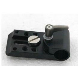Wholesale Dslr Rig Follow - Wholesale- F09271 Universal Porous Holder Clamp Mount for 15mm Rod Support Rail Follow Focus Rig DSLR 5D2 GH2