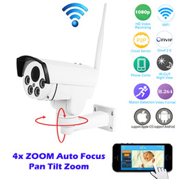 Wholesale Ip Wireless Zoom - 2016 Sale Hi3516c+sony Imx323 Hd 1080p 960p Network Wireless 4x Auto Zoom Outdoor Bullet Waterproof Ptz Wifi Ip Camera Ir Onvif for Sd Card