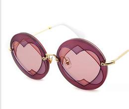 Wholesale Wholesale Framed Butterflies - 4 Colors New Design Double Sweetheart Fahsionable Eyewear Women UV400 Sunglasses Free DHL