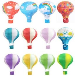 "Wholesale Paper Party Store - Hot Air Balloon 12 ""  30CM Hot Air Balloon Paper Lanterns For Wedding Festival Party Birthday Wedding Store"