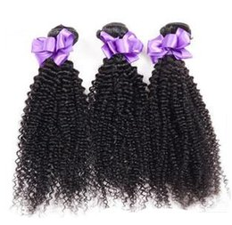 Wholesale Malaysian Virgin Hair Weave 5a - Kinky Curly Weave Brazilian Peruvian Malaysian Indian Mongolian Human Hair Extensions Wefts 3Pcs 8-30inch 5A Virgin Hair Cheap Hair Bundles