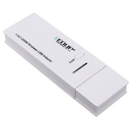 Wholesale Dual Wlan - Wholesale- EP-AC1601 USB3.0 Wireless network card 1200 Mbps Wireless Adapter 2.4GHz 5.8GHz WLAN networks 802.11ac b g n Dual-Band