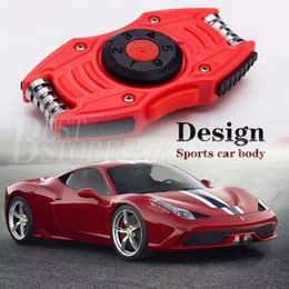 Wholesale Magic Super Car New Fashion Hand Spinners EDC Toys Sports Car Fidget Spinner For Decompression Anxiety Toy Adults Focus Anti Stress PC Metal