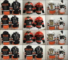 Wholesale Purple Flyer - Hoodies 2017 Stadium Series 53 Shayne Gostisbehere 9 Ivan Provorov 17 Wayne Simmonds 28 Claude Giroux 11 Konecny Philadelphia Flyers Jersey