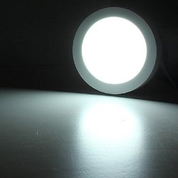 Wholesale Surface Mount Bright White Led - Safe Carton LED Panel Lights Surface Mounted Round 85 Lm w 85-265V Super Bright SMD2835 LED Panel Lights with 3 Light Color