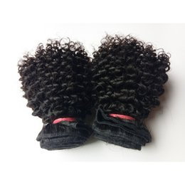 Wholesale full hair weave styles - Short Bob Style Full Cuticle Unprocessed Brazilian Virgin human Kinky Curly hair double weft 8-12inch cheap price beauty Indian remy Hair