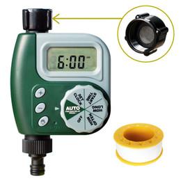 Wholesale hose valves - Garden Digital Water Timer Single Valve Hose Irrigation Watering Timer Single Outlet Faucet Hose Bib Timer