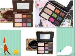 Wholesale Eye Shadow Cute - Free Shipping ePacket! HOT new makeup mix TOTALLY CUTE SUGAR POP CAT EYES 9 color eye shadow  eyeshadow palette