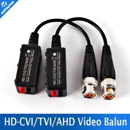 Wholesale Coax Cat5 Video Balun - BNC Video Balun Passive Transceiver COAX CAT5 Camera UTP Cable Coaxial Adapter For 200-450m Distance AHD HDCVI TVI Camera