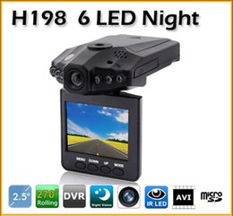 """Wholesale German Lcd - New Latest 2.5""""LCD Car DVR Accident Camera IR LED Video Recorder H198 Car Recorder"""
