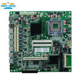 Wholesale xeon servers - 6 Ethernet ports G41XE Motherboard LGA771 DDR3 firewall motherboard,xeon motherboard with VGA