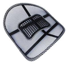 Nuova sedia da ufficio Car Seat Massaggio schienale Supporto lombare Mesh Ventilate Cushion Pad da