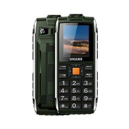 """Wholesale People German - Original Uhans V5 Elder mobile Phone 1.7"""" Old People WaterProof Long standby Big box Speaker 2500mah Led light phone"""
