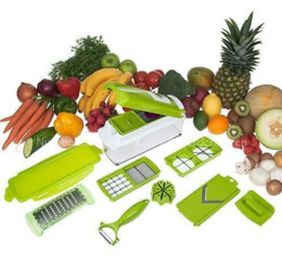 Wholesale Magic Slicer - Multi-function cutting artifact lazy kitchen magic shredder Cut slices slicer new ABS material