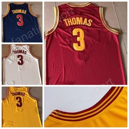 Wholesale High Trade - 2017 Traded 3 Isaiah Thomas Basketball Jerseys For Sport Fans Men High Navy Blue White Yellow Red Isaiah Thomas Jersey High Quality