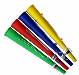 Wholesale Cheer Horns - Game Day Megaphone Stadium Horn Supporters Air Blow Horn Trumpet Noise Maker Cheering Props