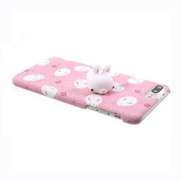 Wholesale Panda Sleeping - Squishy Phone Case for iPhone 6S i6 plus 3D Cute Soft Silicone Panda Sleeping Cat Kitty Cover for iPhon 7 7plus Housing Cover
