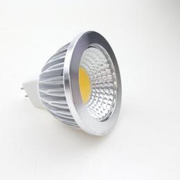 Canada 12V LED MR16 COB Spot Ampoules 3W 5W 12Volt Baïonnette Raccords Cabinet Vers le bas Lampe Ampoule Spot Blanc chaud Blanc Cool Économie D'énergie Ampoule cheap bulb fittings Offre
