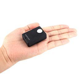A9 alarm online-Mini Funkalarm PIR Infrarot Sensor Detektor GSM Alarm System Diebstahlschutz PIR MP. Alarm A9 Infrarot GSM Wireless Alarm schwarz