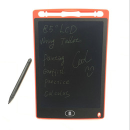 "Wholesale Boy Tablet - 8.5"" Ewriting Board LCD Writing Board Erase Drawing Toys eWriter Handwriting Pads Portable Tablet Board ePaper for Adults Children"