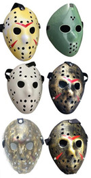 Wholesale hockey masks - Archaistic Jason Mask Full Face Antique Killer Mask Jason vs Friday The 13th Prop Horror Hockey Halloween Costume Cosplay Mask in stock DHL