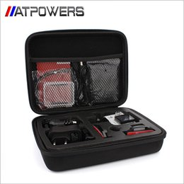Wholesale Travelling Camera Bag - Travel Storage collection bag Case box Mid size 22*18*6cm portable bag for SJCAM SJ4000 SJ5000 EKEN H8 H9 H3 action camera