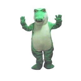 Wholesale Dress Size Plush - 2017 High quality Crocodile Alligator Plush Mascot Costume Adult Size Fancy Dress Suit Free Shipping