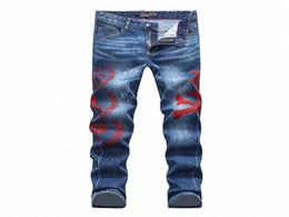Wholesale Working Jeans - SS17 Skinny Zipper Fly Mens Jeans Micro-elastic Denim Desinger Slim Top quality holes MENS Jeans PP1844-1872 Italian trend Designer workS