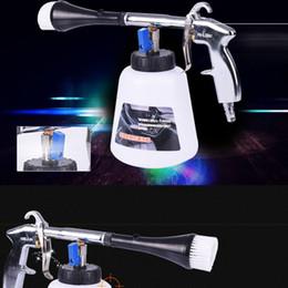 Wholesale Foam Nozzle - Wholesale-Air Pulse Car Washer Equipment Water Nozzle Sprayer High Pressure Car Wash Tornado Foam Bottle Cleaning Gun Car Washer Tool