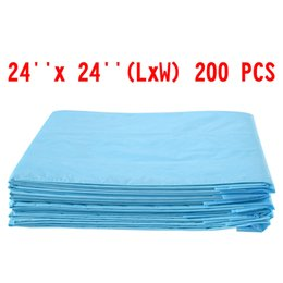 Wholesale Large Breed Cat - 200 PCS 24 x 24 Puppy Pet Pads Dog Cat Wee Pee Piddle Pad training underpads