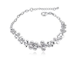 Wholesale Pearl Dreams - 2017 New Arrival Fashion Dream Jewelry Charm Women Bracelets Plated Make With Swarovski Elements FREE SHIPPING 5 colors