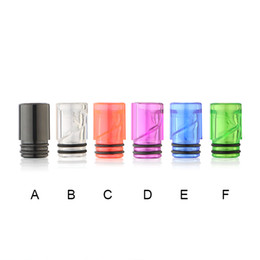 Wholesale Ego Disposable - Electronic Cigarette EGO Plastic Drip Tips 510 with Cute Candy disposable Acrylic Material Colorful EGO Mouthpieces 510 Drip Tips
