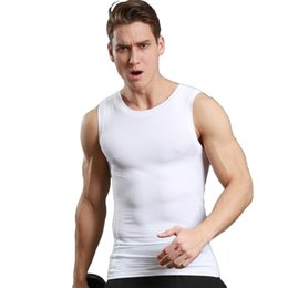 Wholesale Fitness Volleyball - Quick-drying vest tight men's sports running fitness series elastic football volleyball