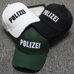 Wholesale Police Ball Caps - High Quality Police Tactical Cap Mens Baseball Caps Brand Snapback Trucker Hat for Man Women cotton Snapback Baseball Caps Hip Hop Cap